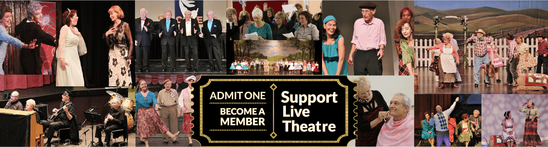 support live theatre - become a member