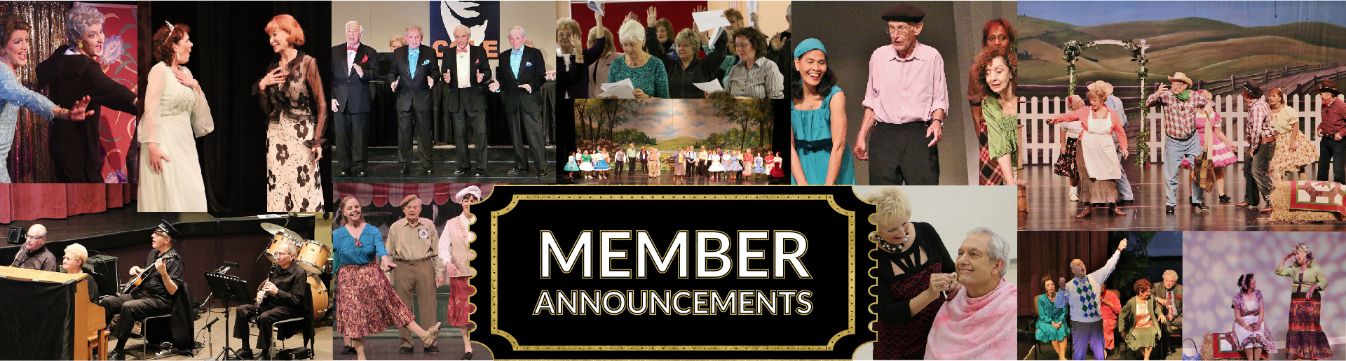 Member Announcements