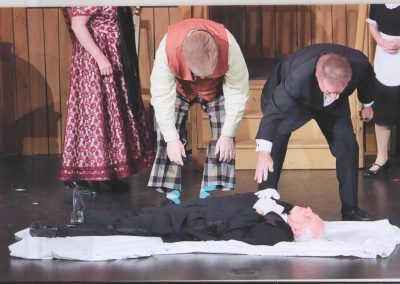 Heart of the Hills Players Something's Afoot Performance 2018
